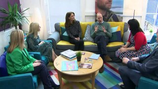 Prince William and Kate visit mental health charity
