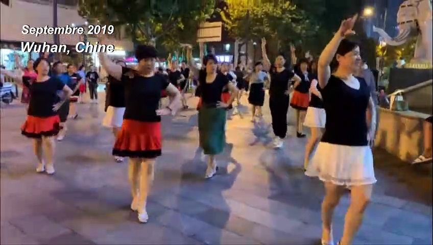 Chine : Wuhan avant et après l'épidémie de coronavirus