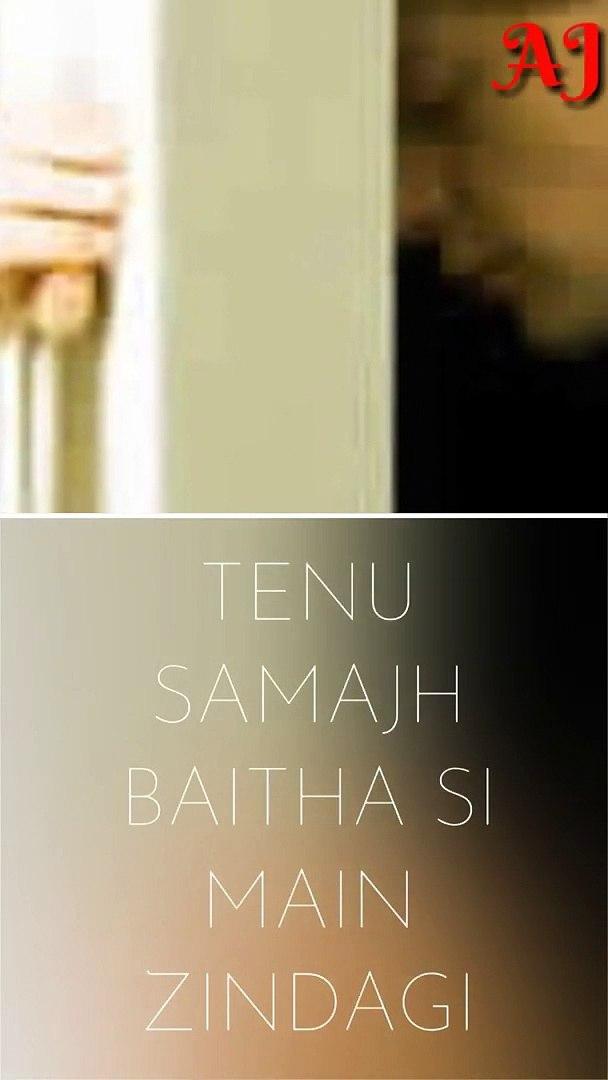 #ohnarahi oh na rahi tenu samajh baitha main zindagi |whatsapp sad status | full screen status sad s