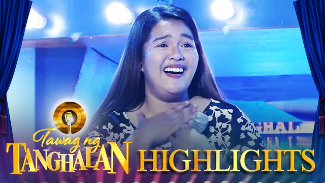 Mikaela Puzon steals the golden microphone from Ann Marie Bastasa | Tawag ng Tanghalan