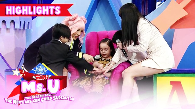 Vice learns about a children's play | It's Showtime Mini Miss U