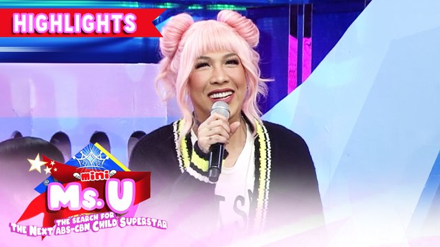 Vice's wish about the network's franchise | It's Showtime Mini Miss U