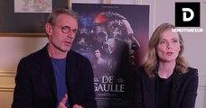Lambert Wilson et Isabelle Carré nous présentent le film «De Gaulle», en salle le 8 mars 2020