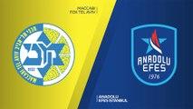 Maccabi FOX Tel Aviv - Anadolu Efes Istanbul Highlights | Turkish Airlines EuroLeague, RS Round 27