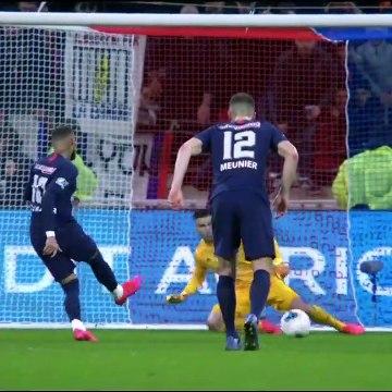 Lyon 1-5 PSG - Les Buts