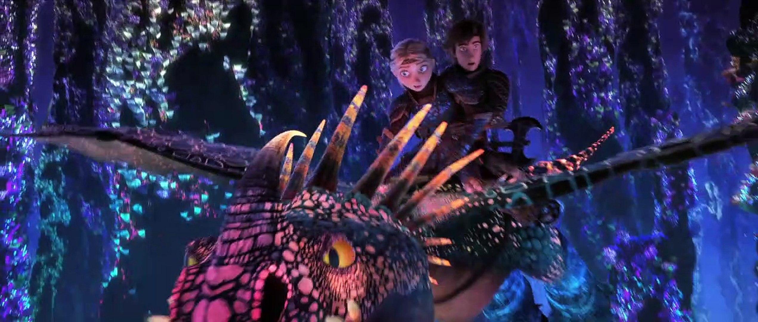 How to Train Your Dragon 3 Harold et Krokmou monde caché Movie Figure 2019