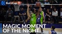 7DAYS Magic Moment of the Night: Devin Williams, Tofas Bursa