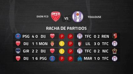 Previa partido entre Dijon FCO y Toulouse Jornada 28 Ligue 1