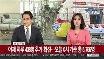 [속보] 어제 438명 추가 확진, 총 5천766명…대구·경북 407명 추가