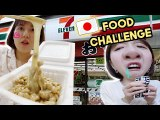 Eating Only 7-Eleven Food In Japan for 4 Days Challenge (Lots of Mukbang & ASMR…lol) | Q2HAN