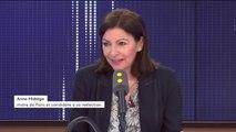 """Confusion d'Anne Hidalgo sur son trajet en métro : """"Comme tous les Parisiens, quand ce n'est pas ma ligne habituelle, je peux aussi faire des mélanges"""", se justifie la maire de Paris"""