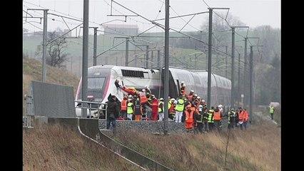 Une coulée de boue fait dérailler le TGV Strasbourg-Paris