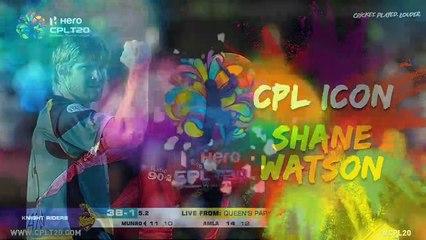 SHANE WATSON | CPL ICON | #CPLIcon #CPL20 #CricketPlayedLouder