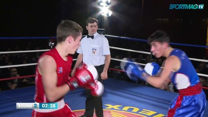 Gala de boxe de Cabourg : Mattéo Rivoual vs Madjid Ramoul