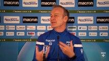 La conférence de presse de Jean-Marc Furlan avant Le Havre-AJA