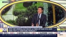 Julien Denormandie (Ministre de la Ville et du Logement): Vers une généralisation de la fibre optique d'ici 2025 dans tout le territoire français? - 05/03
