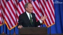 Mike Bloomberg endorses Joe Biden in bid to 'defeat Donald Trump'