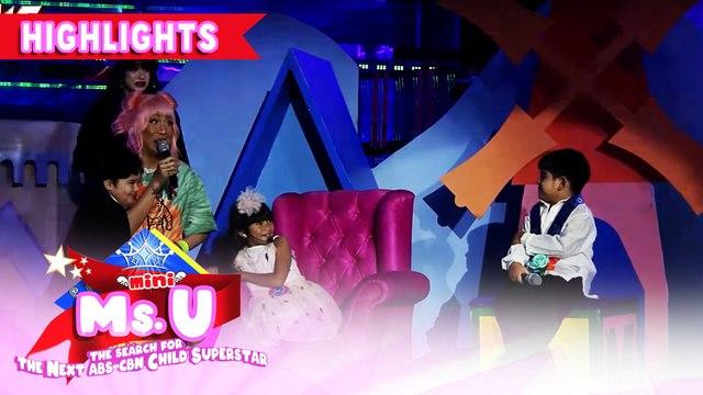 Vice Ganda tries to spook Yorme | It's Showtime Mini Miss U