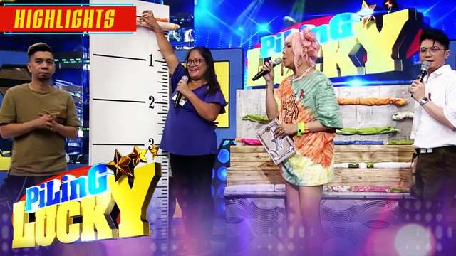 Piling Lucky contestant Shiella wins 50,000 pesos | It's Showtime Piling Lucky