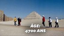 En Égypte, la plus vieille pyramide du monde rouvre après des années de rénovation