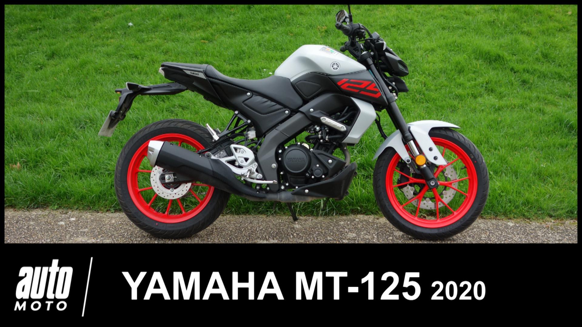 Yamaha MT-125 2020 Essai POV Auto-Moto.com