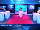 Municipales : 4 candidats à Roanne débatent sur TL7. - Elections Municipales Loire 2020 - TL7, Télévision loire 7