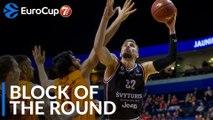 7DAYS EuroCup Block of the Round: Evaldas Kairys, Rytas Vilnius
