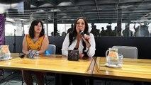 Regina Orozco y Omara Portuondo, unidas en pro de las 'Mujeres libres sin violen