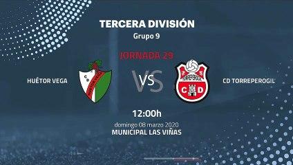 Previa partido entre Huétor Vega y CD Torreperogil Jornada 29 Tercera División
