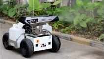 COVID-19, CORONAVIRUS: 5G network controlling coronavirus robot army 'disinfecting' China's disease cities | AgileX Robotics