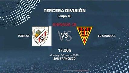 Previa partido entre Torrijos y CD Azuqueca Jornada 28 Tercera División