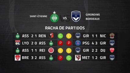 Previa partido entre Saint-Étienne y Girondins Bordeaux Jornada 28 Ligue 1