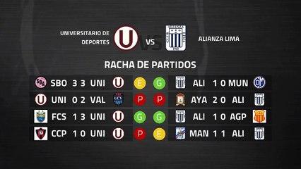 Previa partido entre Universitario de Deportes y Alianza Lima Jornada 6 Perú - Liga 1 Apertura