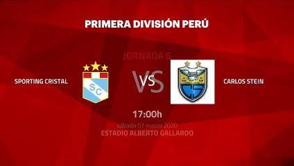 Previa partido entre Sporting Cristal y Carlos Stein Jornada 6 Perú - Liga 1 Apertura