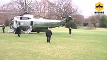 President Donald Trump Departs for Pennsylvania Town Hall