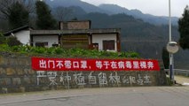Coronavirus: China creates banners to educate public about how to fight Covid-19