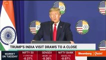 U.S. President Trump's Press Briefing On Bilateral Talks With India
