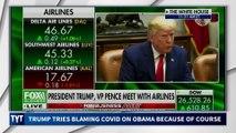 Trump Blames Obama For COVID-19