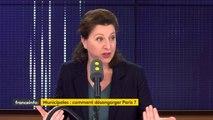 """Soutien de Nicolas Hulot à Anne Hidalgo : """"Il ne vit pas à Paris et quand il était ministre il se plaignait beaucoup de la ville qu'il trouvait fatigante"""", assure la candidate à la mairie de Paris, Agnès Buzyn"""