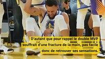 NBA – Le plus dur pour Stephen Curry dans son retour