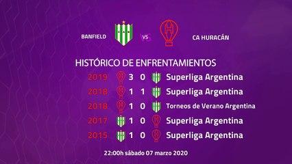 Previa partido entre Banfield y CA Huracán Jornada 23 Superliga Argentina