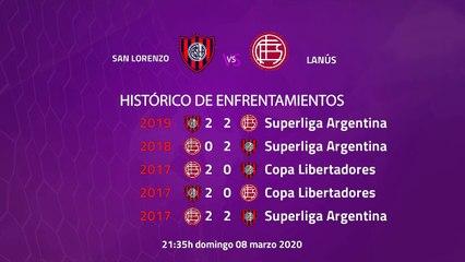 Previa partido entre San Lorenzo y Lanús Jornada 23 Superliga Argentina