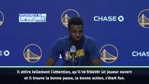 NBA - Wiggins dithyrambique sur Curry