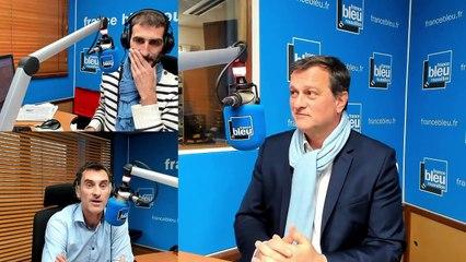 Louis Aliot, invité de France Bleu