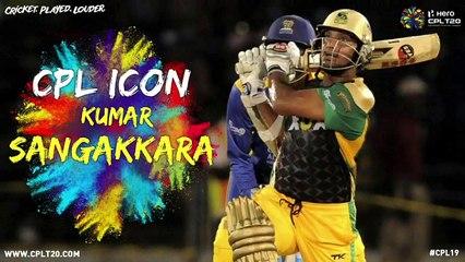 KUMAR SANGAKKARA | #CPLIcon #CPL20 #CricketPlayedLouder