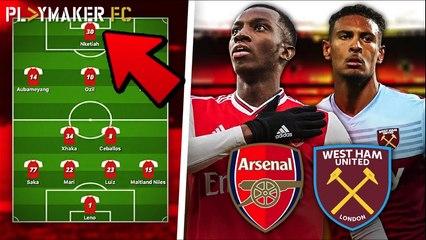 Fan TV | Arsenal v West Ham: Predicted lineup