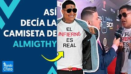 """""""EL INFIERNO ES REAL"""": ALMIGHTY lanza duras ADVERTENCIAS en Premios Urbanos"""