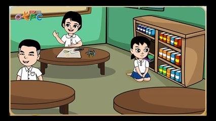สื่อการเรียนการสอน คำและการสังเกตเสียงสระ ป.3 ภาษาไทย