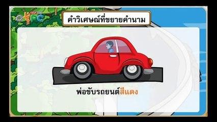 สื่อการเรียนการสอน คำวิเศษณ์ ป.3 ภาษาไทย