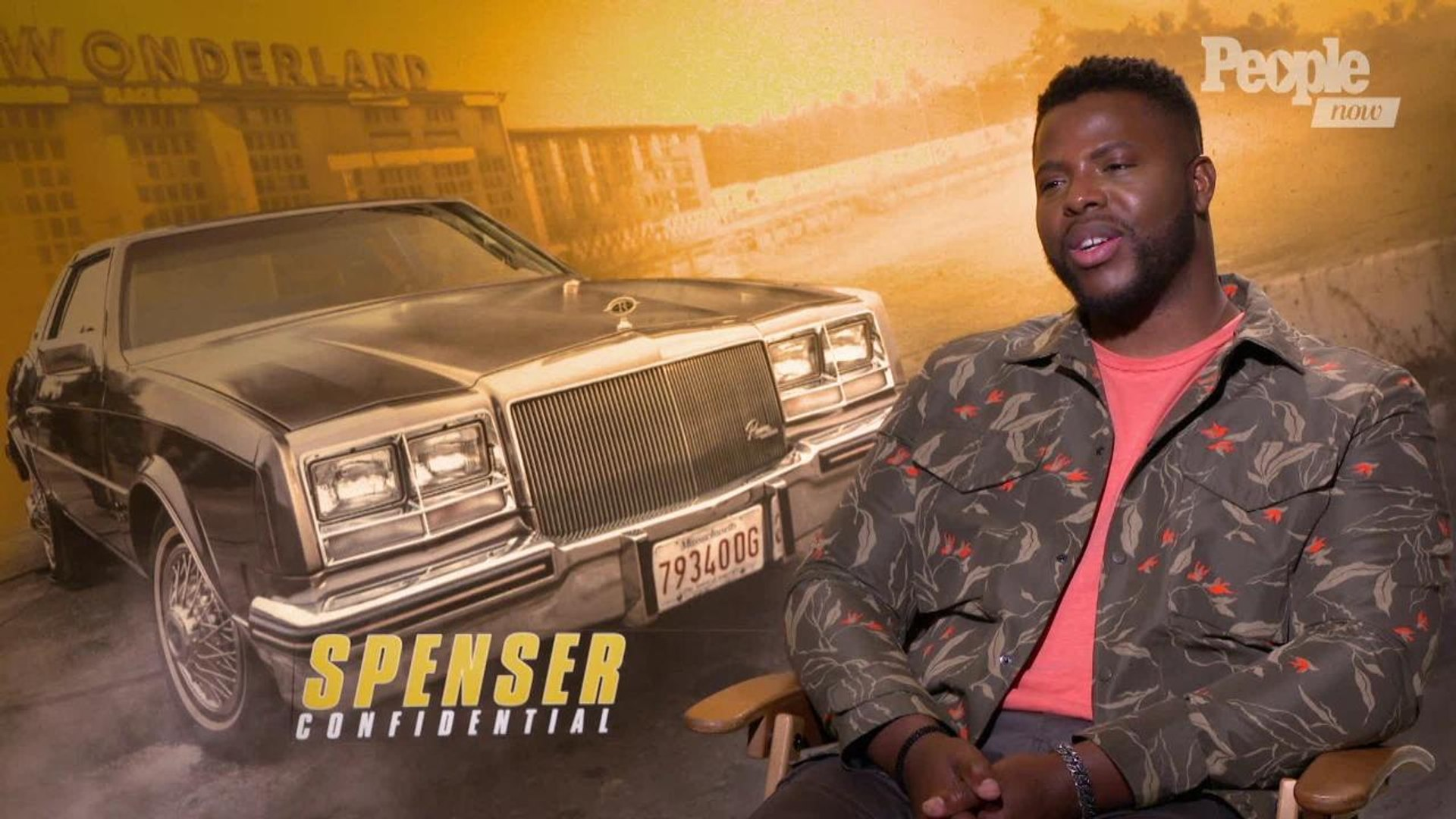 Actors Mark Wahlberg And Winston Duke Talk About Filming New Film Spenser Confidential Video Dailymotion